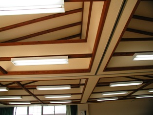 多目的教室の天井